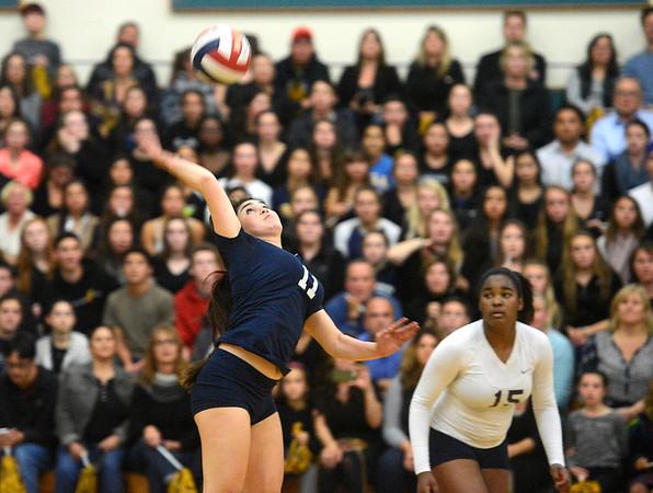 Carmel vs Catalina Volleyball 110415