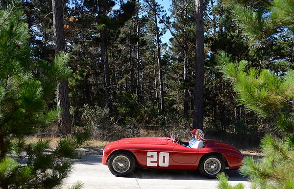 Pebble Beach Road Race Ferrari Parade  081415