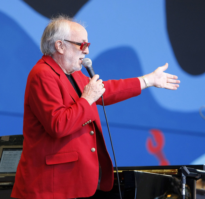 . Bob James on the Jimmy Lyons Stage at the Monterey Jazz Festival on Sept. 22, 2013.  (Vern Fisher/Monterey County Herald)