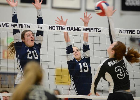 NorCal Volleyball Playoffs 112415