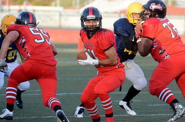 Pacific Grove Football Scrimmage 082915