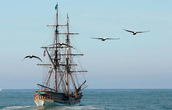 Tall Ship Lady Washington - 111815